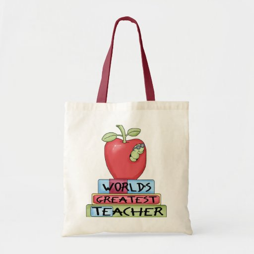 World's Greatest Teacher Canvas Bag