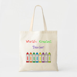 """World's Greatest Teacher"" Bag"