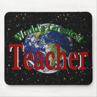 World's Greatest Teacher Mouse Pad