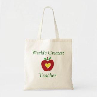 World's Greatest Teacher Tote