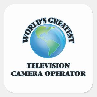 World's Greatest Television Camera Operator Stickers