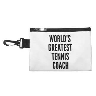 Worlds Greatest Tennis Coach Accessories Bag