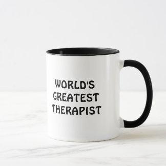 World's Greatest therapist Mug