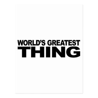 World's Greatest Thing Postcard