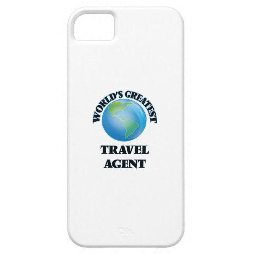 World's Greatest Travel Agent iPhone 5/5S Covers