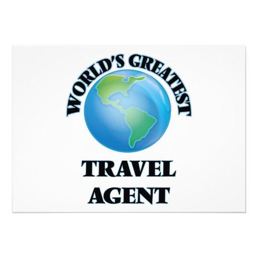 World's Greatest Travel Agent Invitations