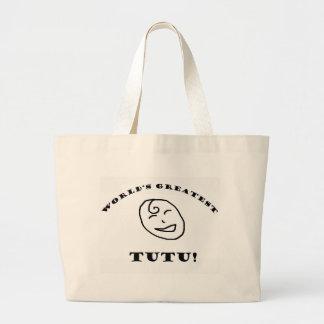 World's Greatest Tutu Tote Bag