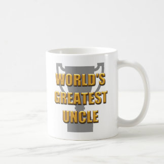 World's greatest Uncle mug. Best Uncle Coffee Mug
