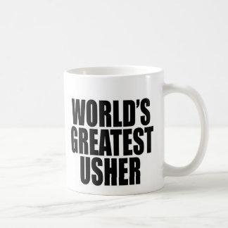 World's Greatest Usher Coffee Mug