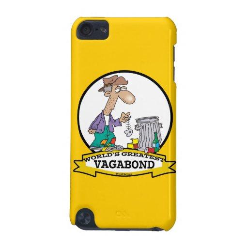 WORLDS GREATEST VAGABOND MEN CARTOON iPod TOUCH 5G CASE
