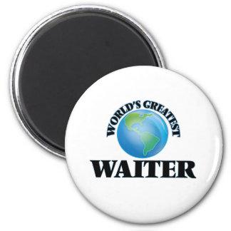 World's Greatest Waiter Fridge Magnet