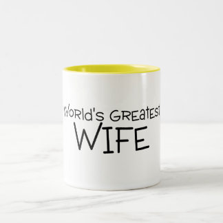 Worlds Greatest Wife Coffee Mugs