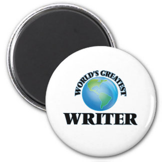 World's Greatest Writer Magnets