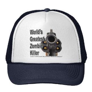 World's Greatest Zombie Killer Trucker Hats