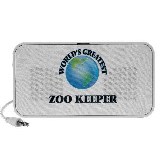 World's Greatest Zoo Keeper iPod Speaker