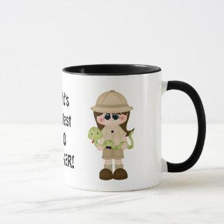 World's greatest zoo worker coffee mug