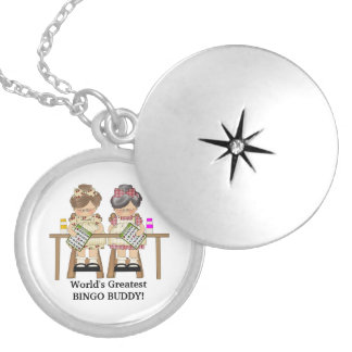 World's Grestest Bingo Buddy locket