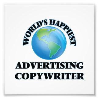 World's Happiest Advertising Copywriter Photograph