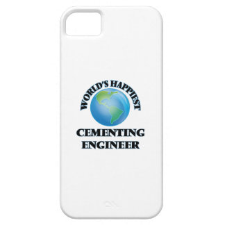 World's Happiest Cementing Engineer iPhone 5 Cases