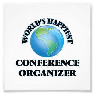 World's Happiest Conference Organizer Photo Print