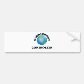 World's Happiest Controller Bumper Sticker