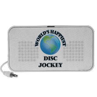 World's Happiest Disc Jockey Mini Speakers