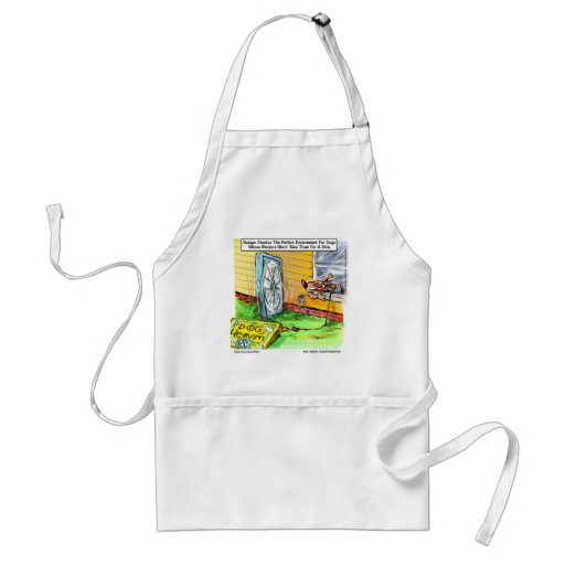 Worlds Happiest Dog Funny Tees Mugs & Gifts Apron