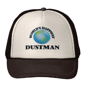 World's Happiest Dustman Trucker Hat