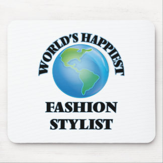 World's Happiest Fashion Stylist Mouse Pad
