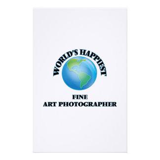 World's Happiest Fine Art Photographer Stationery