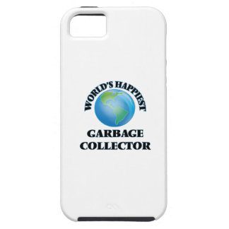 World's Happiest Garbage Collector iPhone 5 Covers