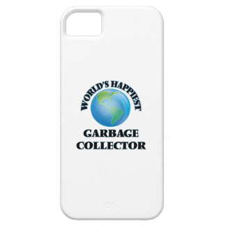 World's Happiest Garbage Collector iPhone 5 Cover