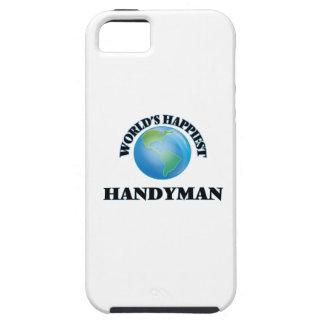 World's Happiest Handyman iPhone 5 Case