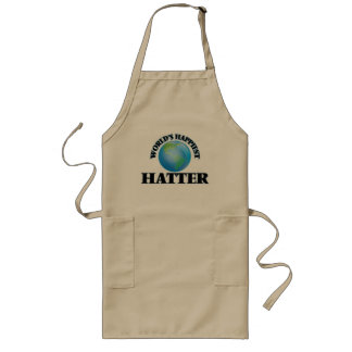 World's Happiest Hatter Long Apron