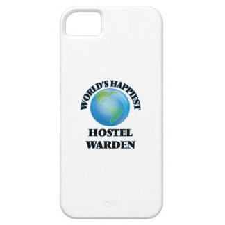 World's Happiest Hostel Warden iPhone 5 Covers