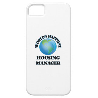World's Happiest Housing Manager iPhone 5 Cover