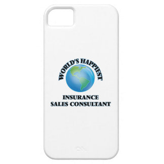 World's Happiest Insurance Sales Consultant iPhone 5 Cover