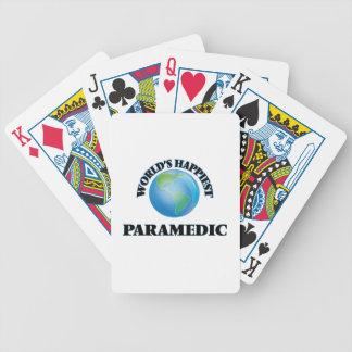 World's Happiest Paramedic Poker Deck
