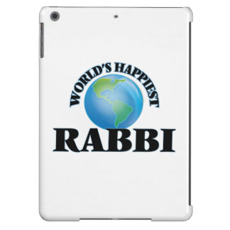 World's Happiest Rabbi Cover For iPad Air