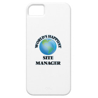World's Happiest Site Manager iPhone 5 Cover