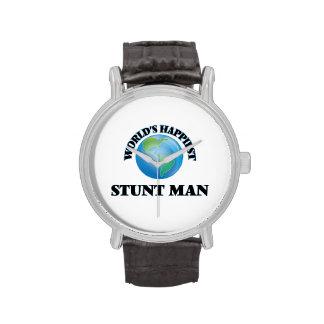 World's Happiest Stunt Man Wrist Watch