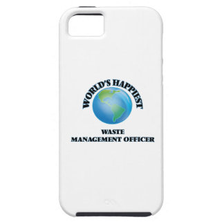 World's Happiest Waste Management Officer iPhone 5 Cover