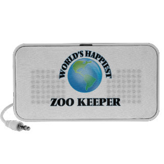World's Happiest Zoo Keeper Mp3 Speakers
