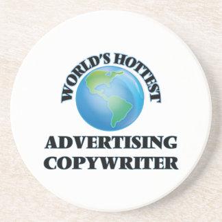 World's Hottest Advertising Copywriter Beverage Coaster