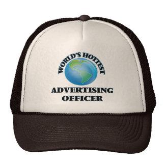 World's Hottest Advertising Officer Mesh Hats