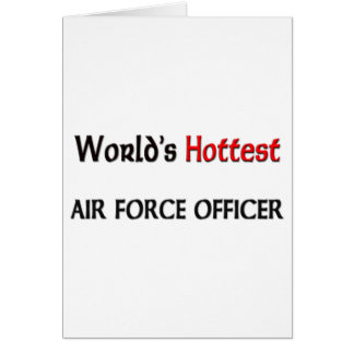 Worlds Hottest Air Force Officer Card