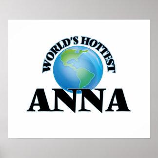 World's Hottest Anna Print