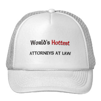 Worlds Hottest Attorneys At Law Hats