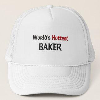 Worlds Hottest Baker Trucker Hat