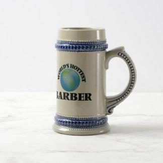 World's Hottest Barber 18 Oz Beer Stein